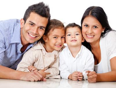 Happy family | Calgary AB Dentist