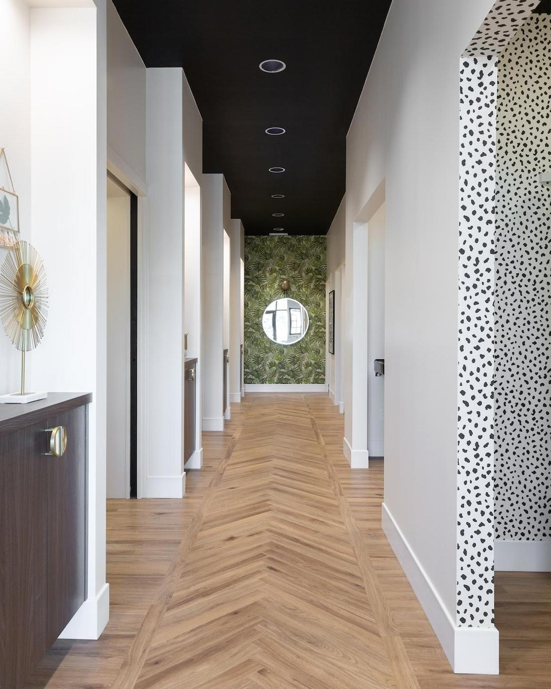 Dental hallway in Legacy Dental Care | Dentist Calgary AB