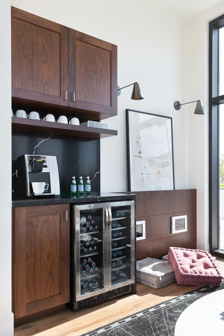 Beverage Area with Coffee Maker | Legacy Dental Care